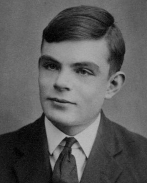 Alan Turing im Alter von 16 Jahren