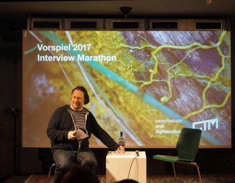 Vorspiel 2017 Marathon with Oliver Baurhenn as moderator