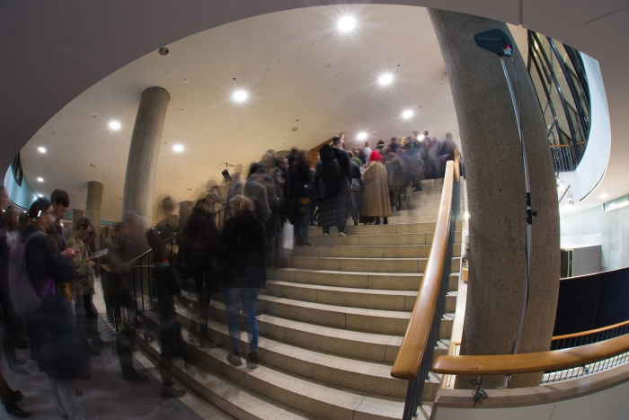 Opening night of transmediale 2017 ever elusive
