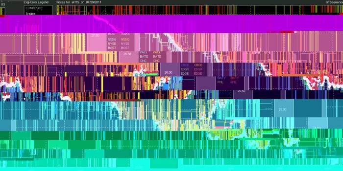 HFT The Gardener/Psychoactive Glitch Graphs/Lophophora williamsii (Peyote) Medium: Digital print. Dimensions: 21 x 29.7 cm. Date: 2014-15