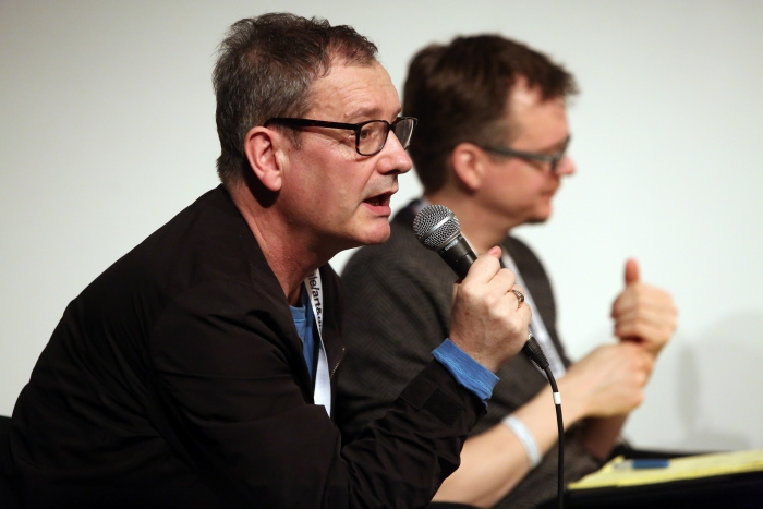 """Geoff Cox at """"Machine Research – Infrastructures"""", transmediale 2017"""
