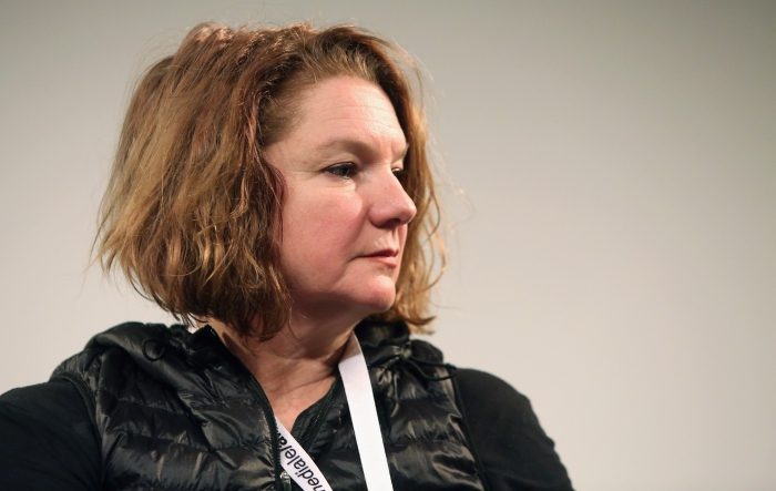 "Renée Ridgway at ""Machine Research – Infrastructures"", transmediale 2017"