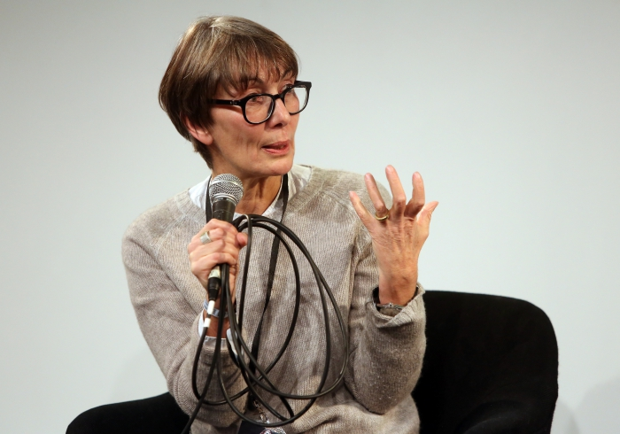 """Marie-Luise Angerer at """"Material Flows: Rafts and Bodies at Sea"""", transmediale 2017"""