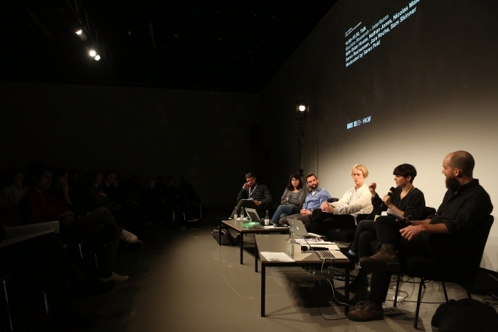 "Impression of ""Machine Research – Interfaces"", transmediale 2017"