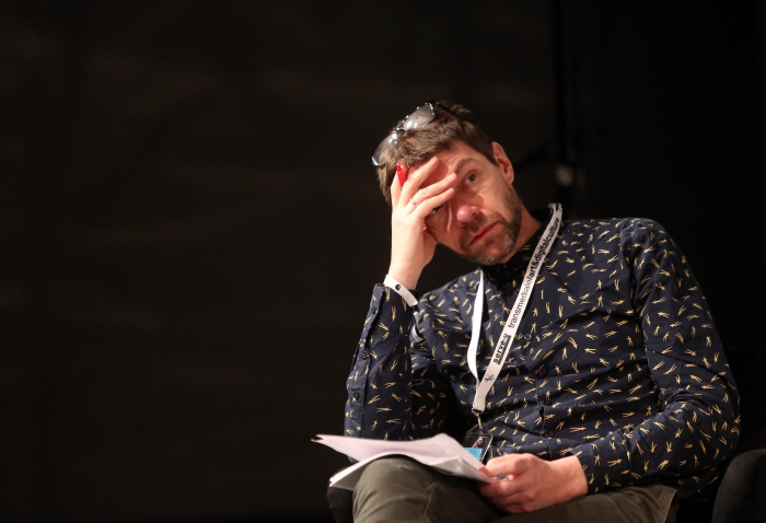 "Søren Pold at ""Machine Research – Interfaces"", transmediale 2017"