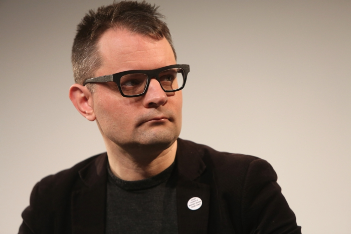 """Florian Cramer at """"Middle Session: The Middle to Come"""", transmediale 2017"""