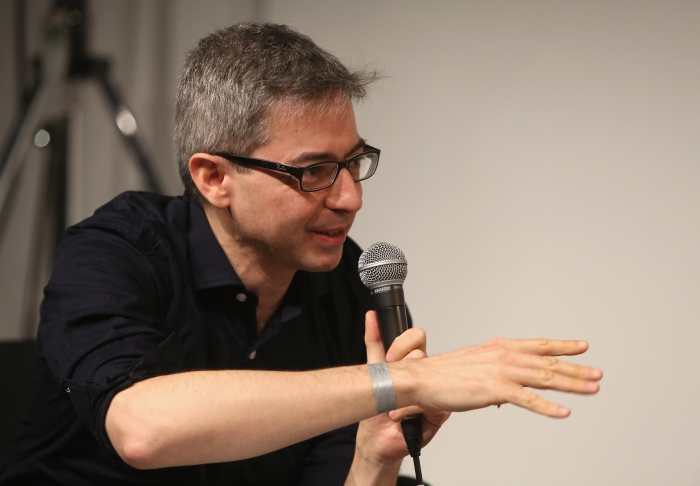 """Alessandro Ludovico at """"Middle Session: The Middle to Come"""", transmediale 2017"""