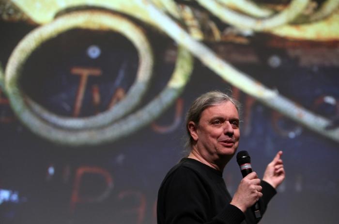 "Steve Kurtz at ""Strange Ecologies: From Necropolitics to Reproductive Revolutions"", transmediale 2017"