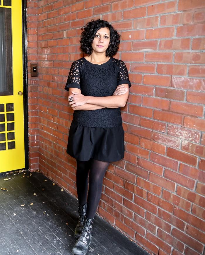 Portrait of Sarah Sharma.
